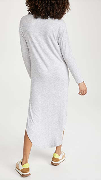 Z Supply Ray Knot Slub Sweater Dress