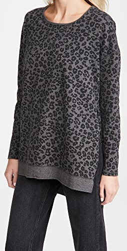 Z Supply - Leopard Weekender Sweatshirt