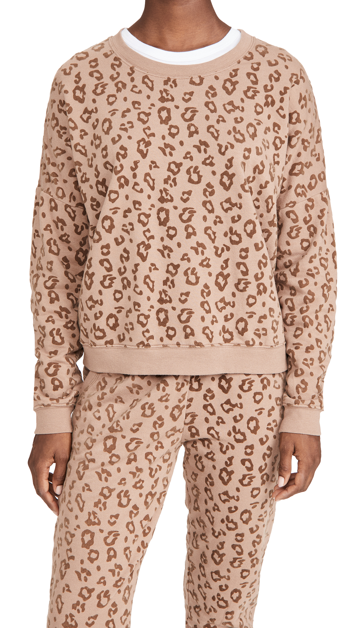 Z Supply The Flocked Animal Pullover