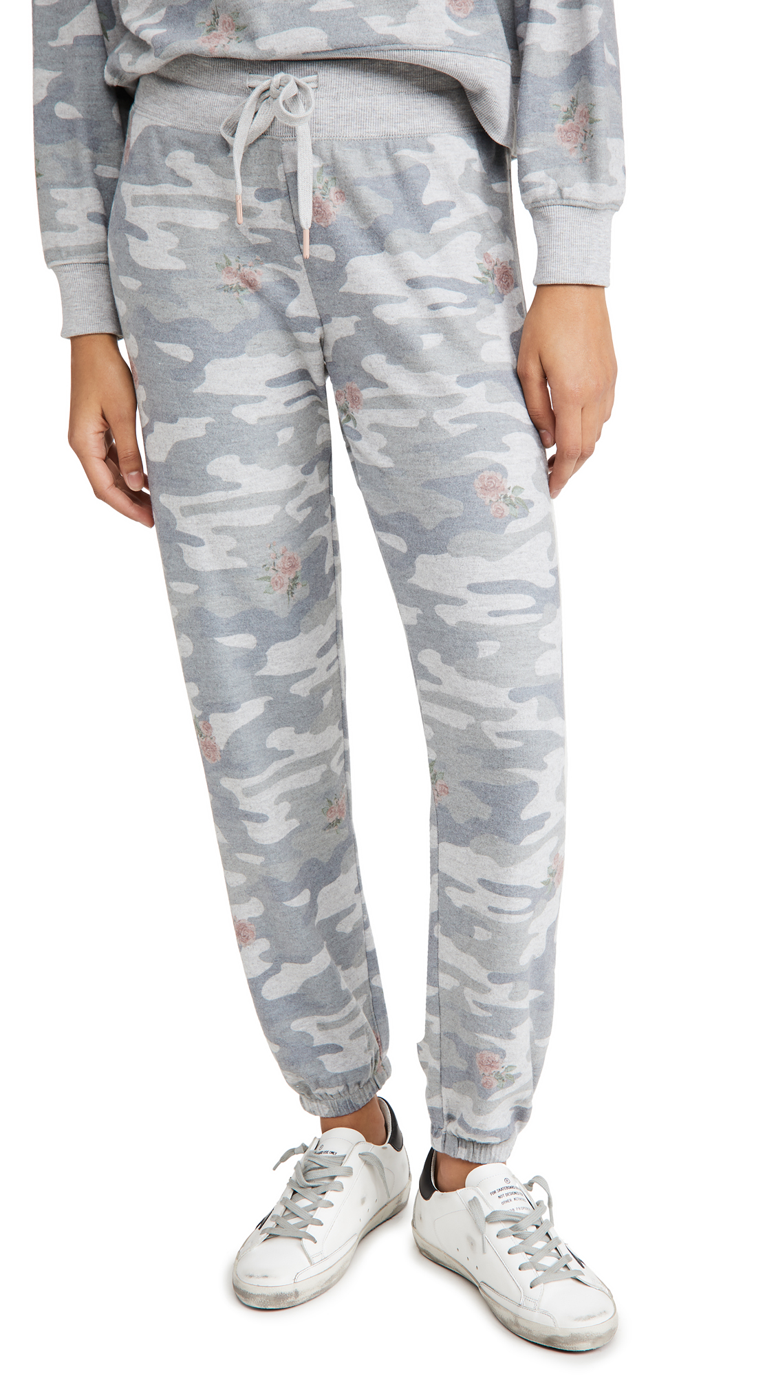 Z Supply Ava Rose Camo Joggers