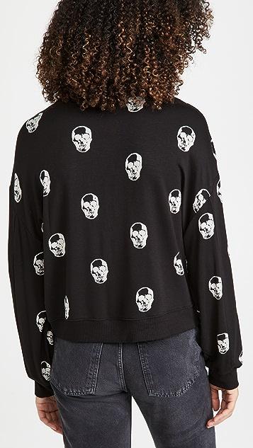 Z Supply Skull Crew Neck Pullover