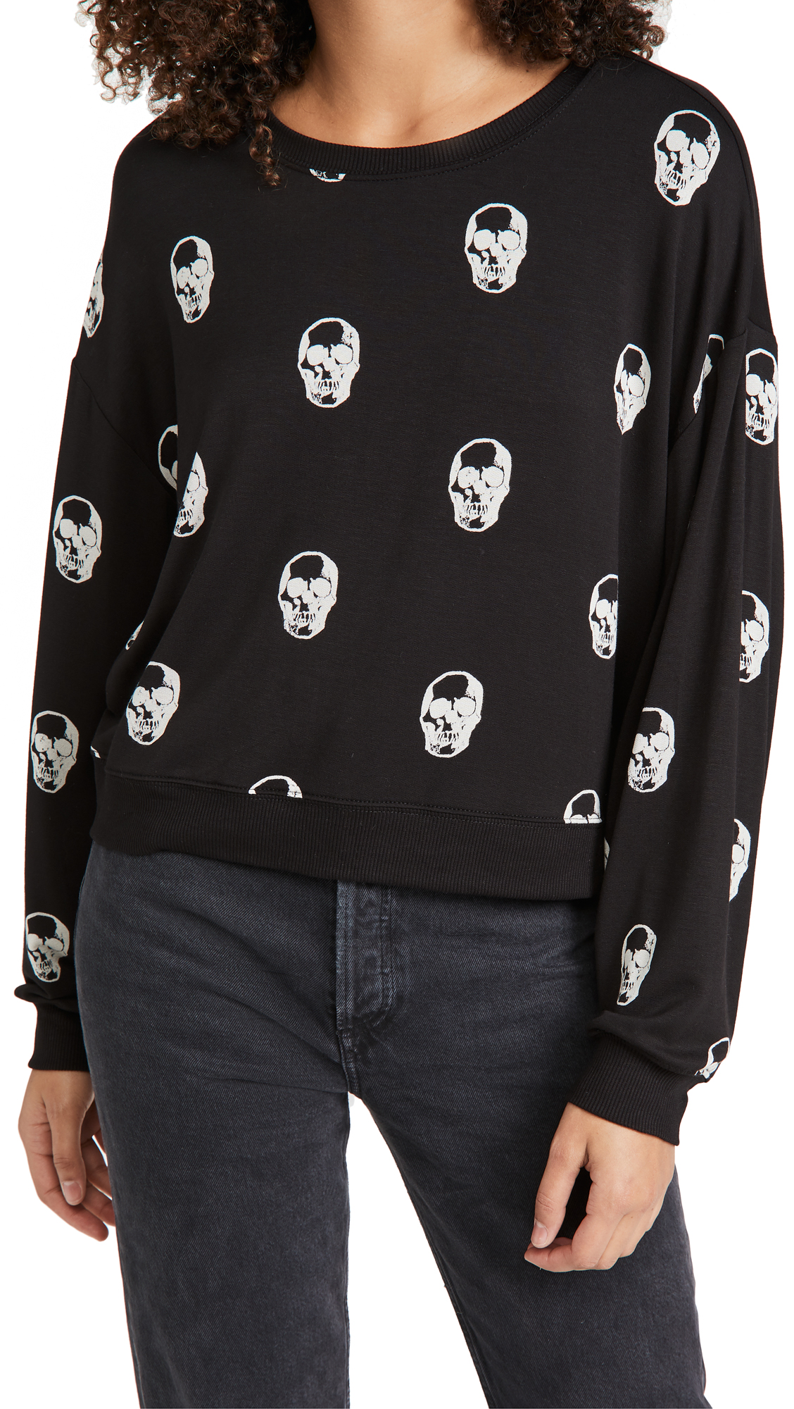 Z Supply Skull Crew Neck Pullover