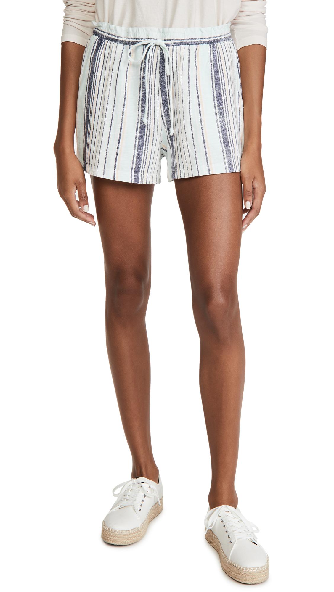 Z Supply Mila Stripe Shorts