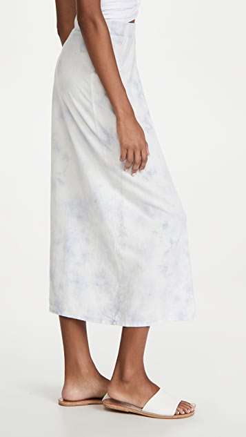 Z Supply Alva Haxy Tie Dye Skirt