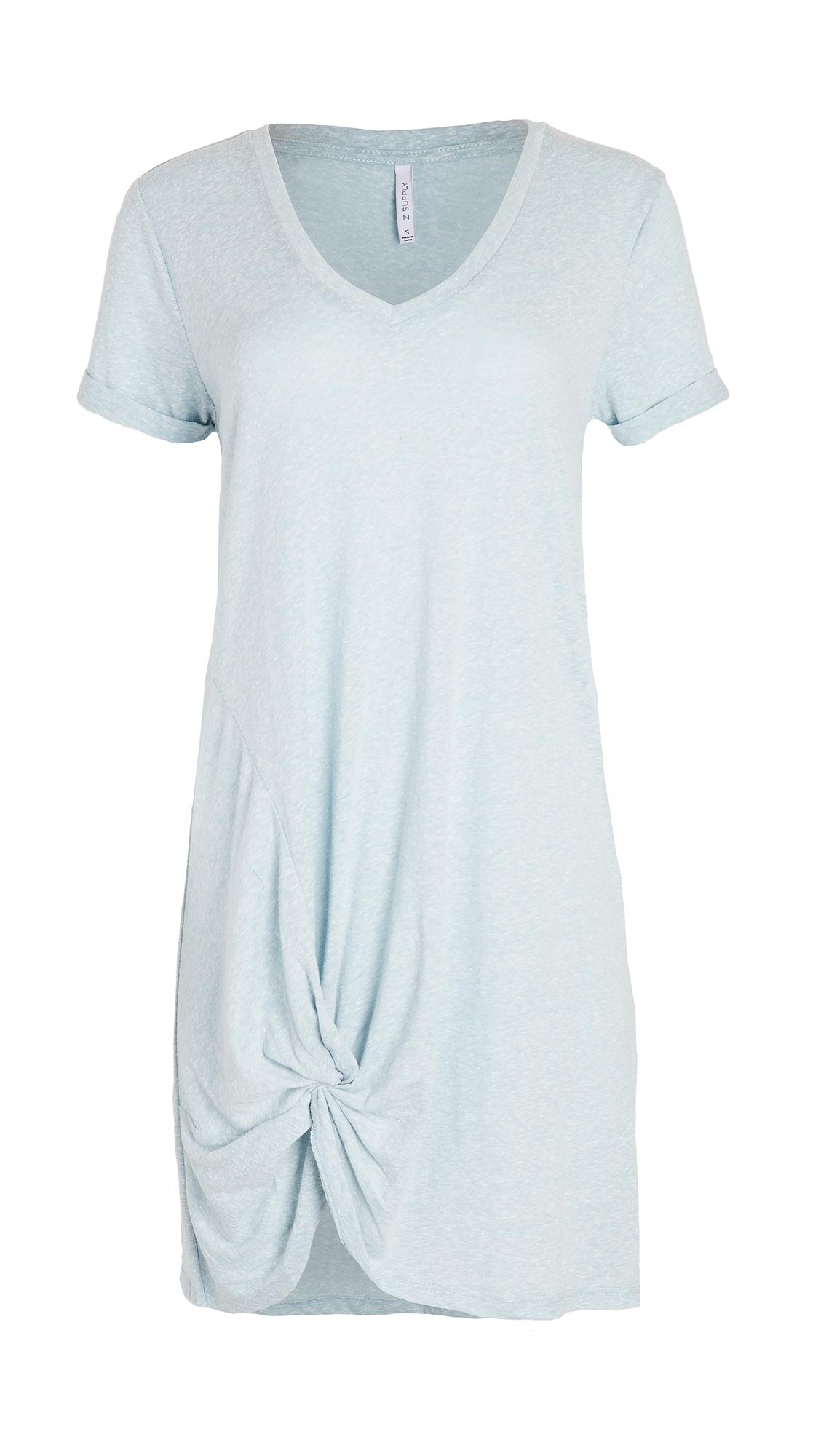 Z Supply Tri Blend Side Knot Dress