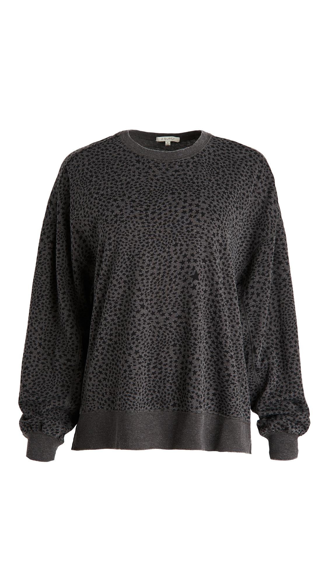 Z Supply Stardust Modern Weekender Sweatshirt