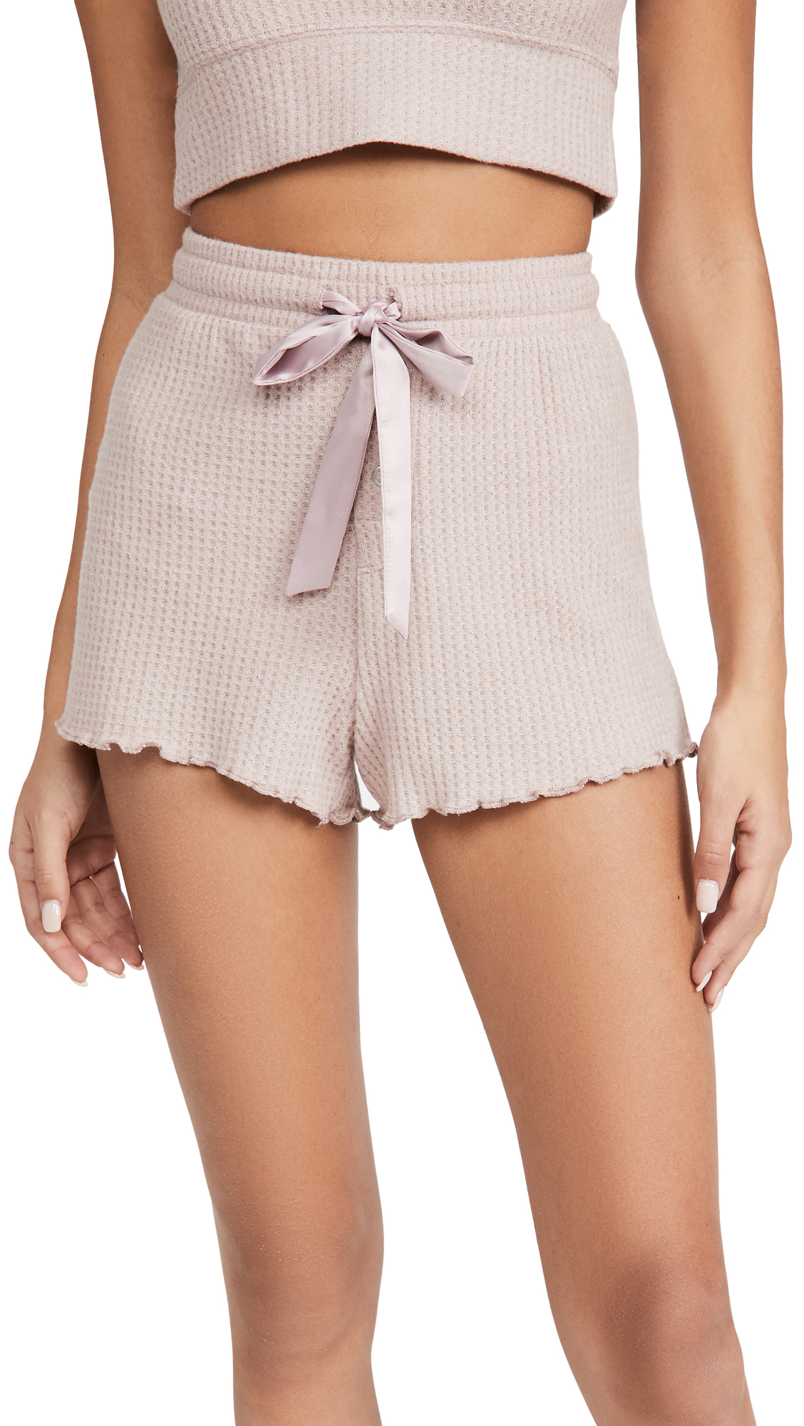 Z Supply Frills Thermal Shorts
