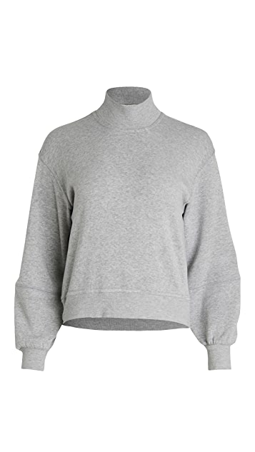 Z Supply Skylar Mock Neck Pullover Sweatshirt