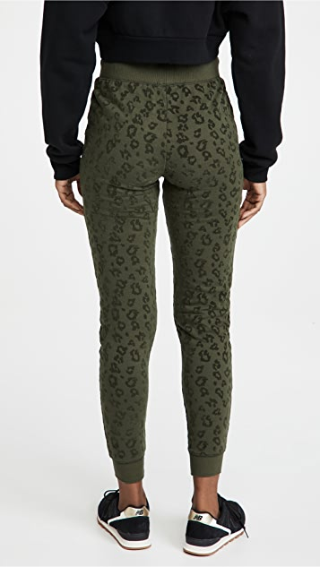 Z Supply Animal Flocked Joggers