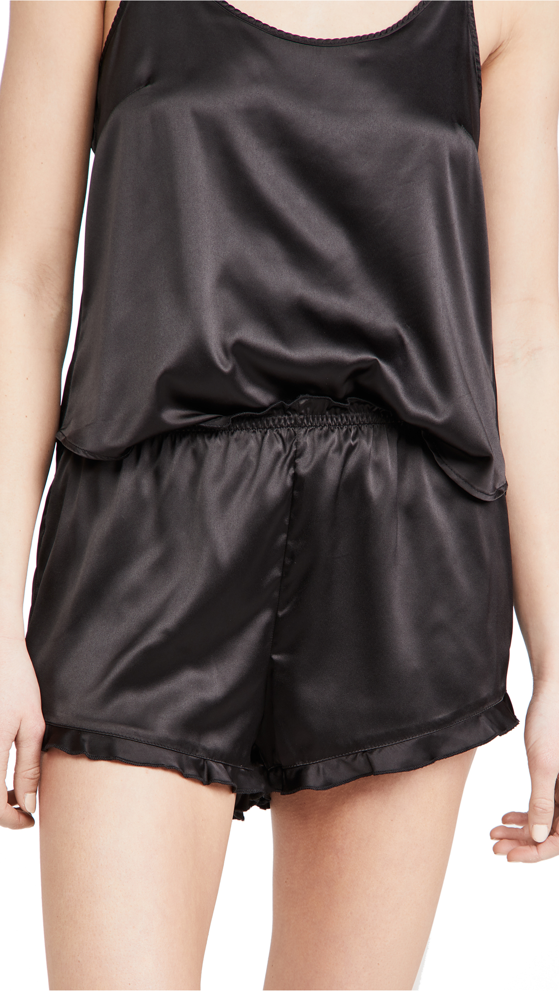 Z Supply Date Night Satin Shorts
