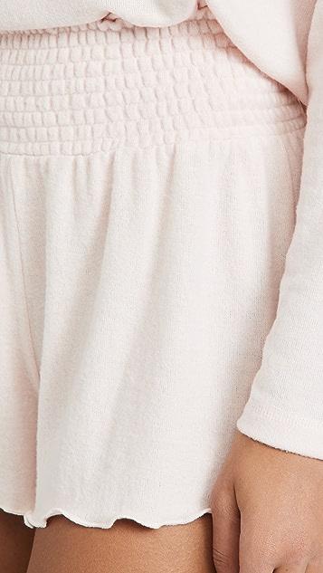 Z Supply Dawn Smocked Shorts