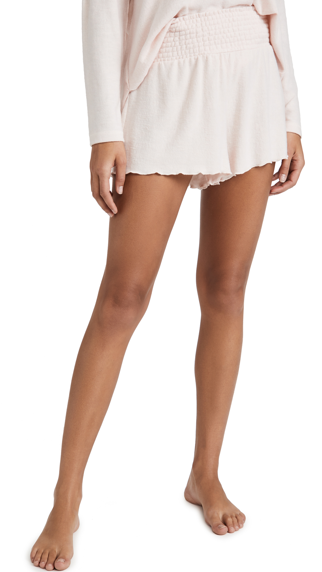 Z Supply Dawn Smocked Shorts