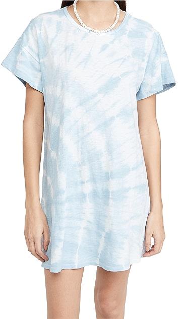 Z Supply Launa Swirl Tie Dye Dress