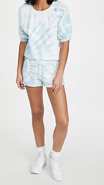 Z Supply Sadie Spiral Tie-Dye Shorts
