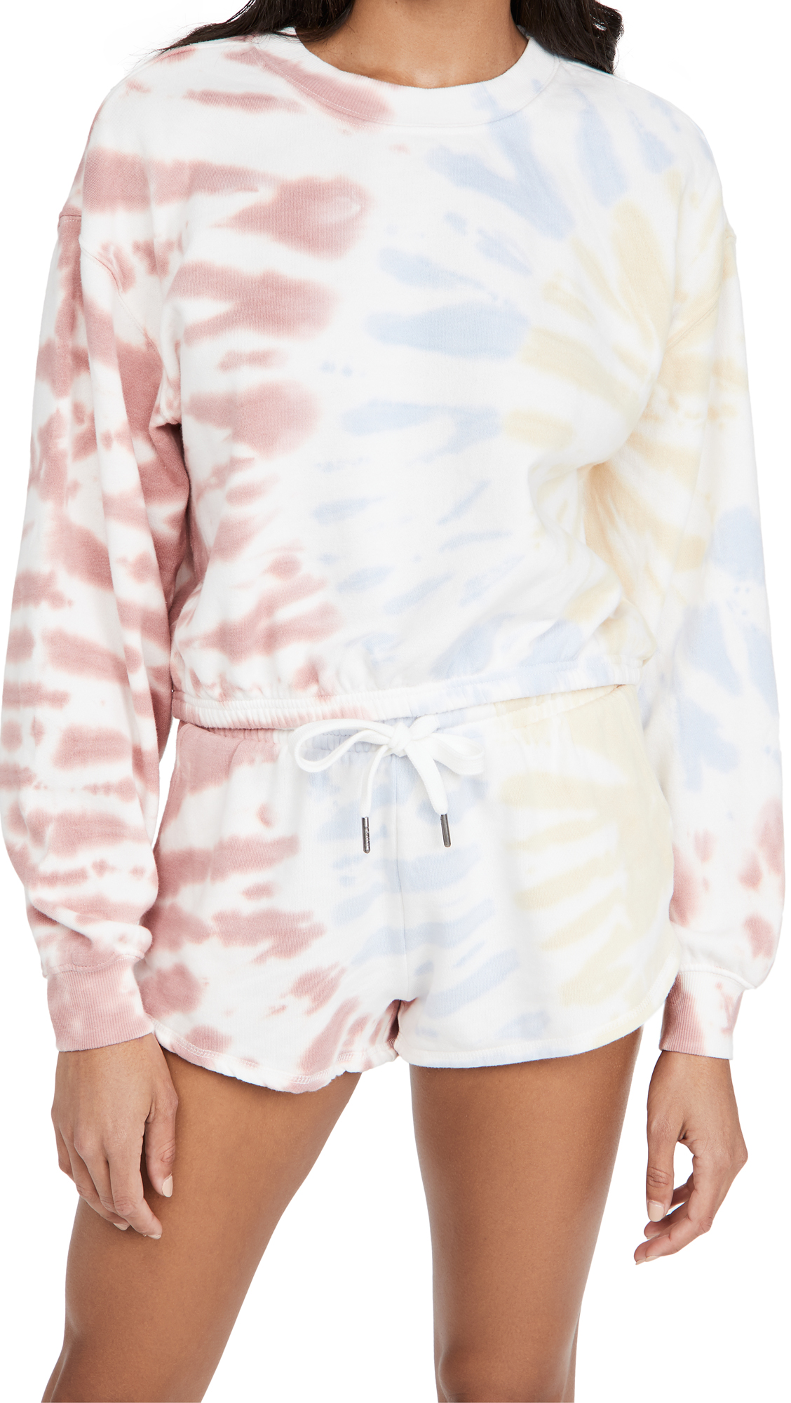 Z Supply Britton Tie Dye Cropped Pullover