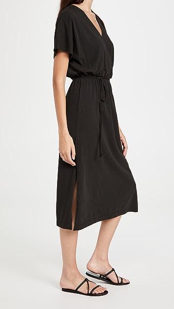 Z Supply Maryn Wrap Midi Dress