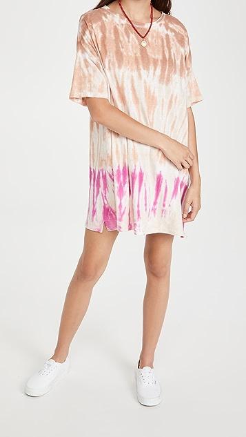 Z Supply Delta Tie Dye Dress