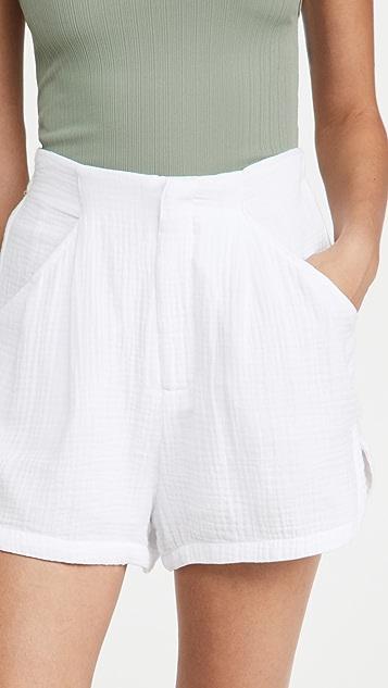 Z Supply Acres Gauze Shorts
