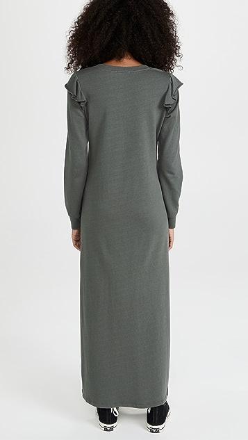 Z Supply Ruffle Maxi Dress