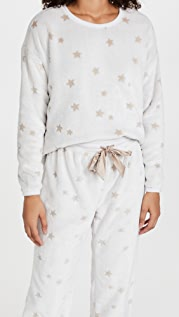 Z Supply Frosted Plush Star Top