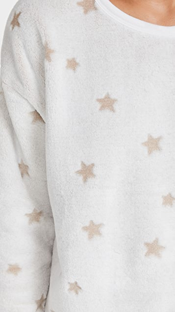 Z Supply Frosted Plush Star 上衣