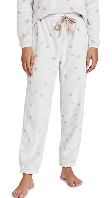 Z Supply Chill Plush Star Joggers