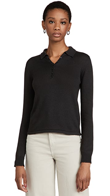 Z Supply WFH Polo Sweater