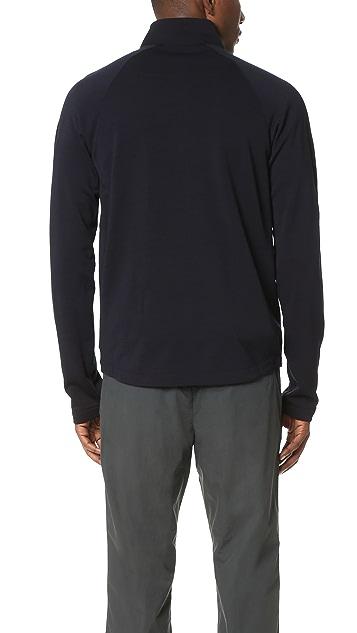Z Zegna Techmerino Full Zip Sweatshirt