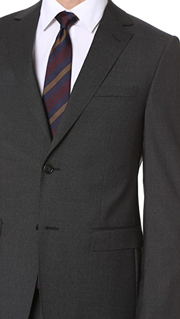 Z Zegna Drop 8 Wool Suit