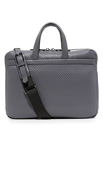 Z Zegna Pixel Slim Business Bag