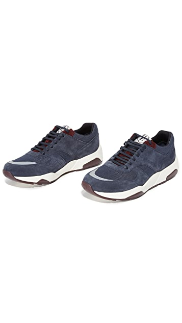 Z Zegna Techmerino Racer Sneakers