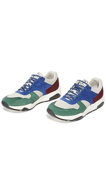 Z Zegna Techmerino Racer Sneakers