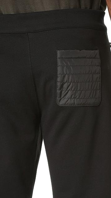 Z Zegna Nylon Detail Sweatpants