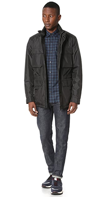 Z Zegna Light Shell 4 Pocket Field Jacket
