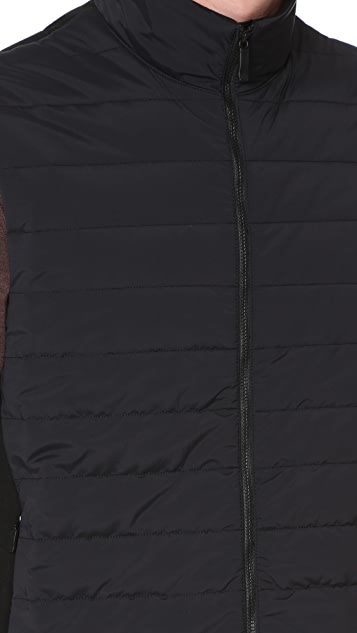 Z Zegna Techmerino Fleece Vest