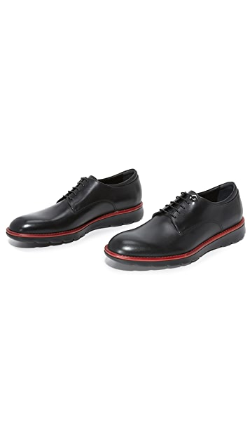 Z Zegna Hybrid Plain Toe Derby