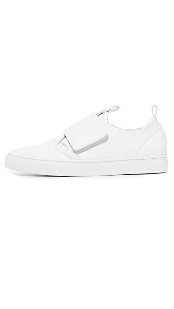 Z Zegna California Velcro Low Top Sneakers