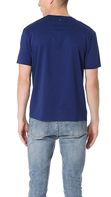 Z Zegna Mercerized Cotton Crew Neck Tee