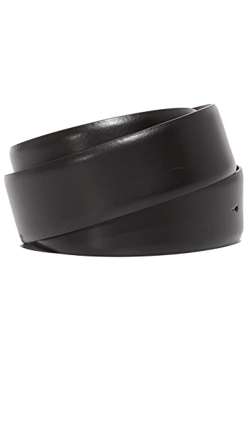 Z Zegna Z Logo Reversible Adjustable Belt