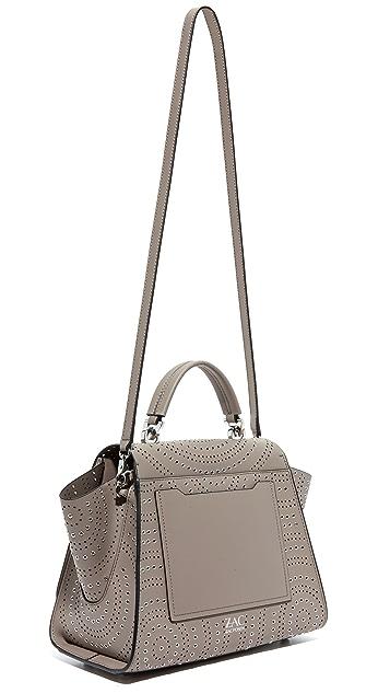 ZAC Zac Posen Grommet Eartha Soft Top Handle Bag