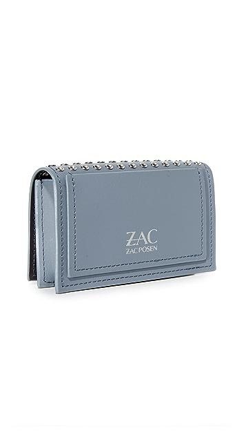ZAC Zac Posen Earthette Micro Grommet Pouch