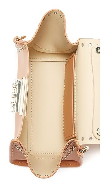 ZAC Zac Posen Grommet Eartha Iconic Mini Top Handle Bag