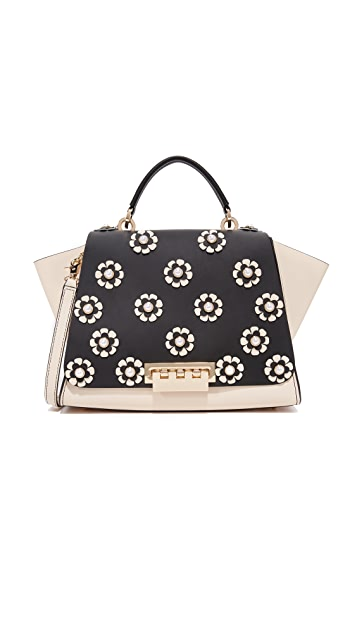 ZAC Zac Posen Eartha Floral Soft Top Handle Bag