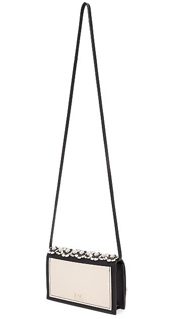 ZAC Zac Posen Earthette Floral Cross Body Bag