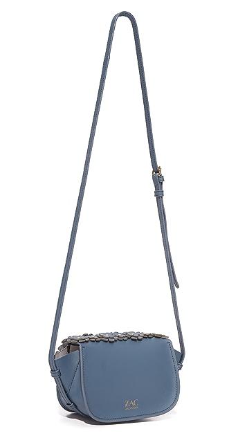ZAC Zac Posen Eartha Accordion Mini Saddle Bag