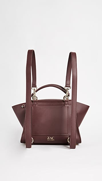 ZAC Zac Posen Eartha Iconic Soft Top Handle Convertible Backpack