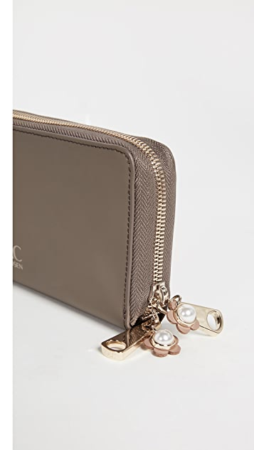 ZAC Zac Posen Earthette Continental Wallet