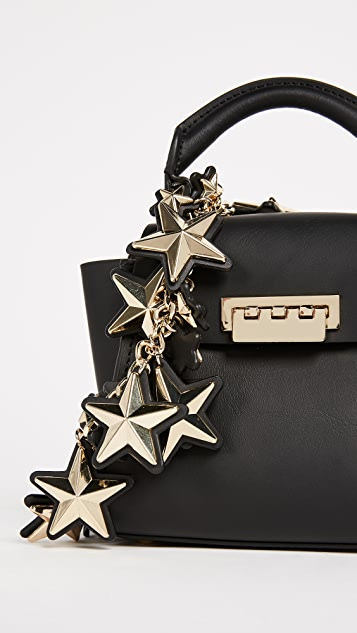 ZAC Zac Posen Star Stud Eartha Mini Top Handle Bag