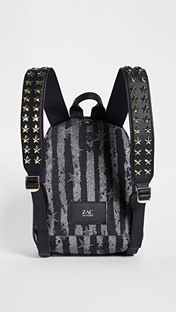 ZAC Zac Posen Star Stud Eartha Small Backpack