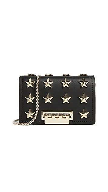 ZAC Zac Posen Star Stud Earthette Card Case with Chain